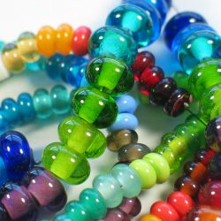 Perles de couleurs unies – Rainbow